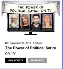 The Power Of Political Satire On Tv Cool Nyc Events